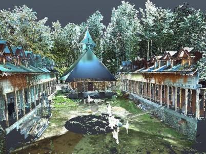 Nor 3D - Biserica Tismana - Scanare 3D pentru monumente istorice