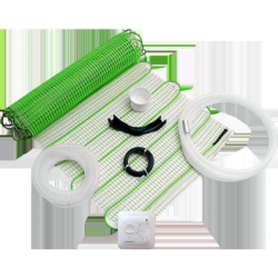 THERMOVAL Kit incalzire pardoseala 10 mp - 170W/mp, lat 50 cm - Incalzire si climatizare incalzire electrica in pardoseala