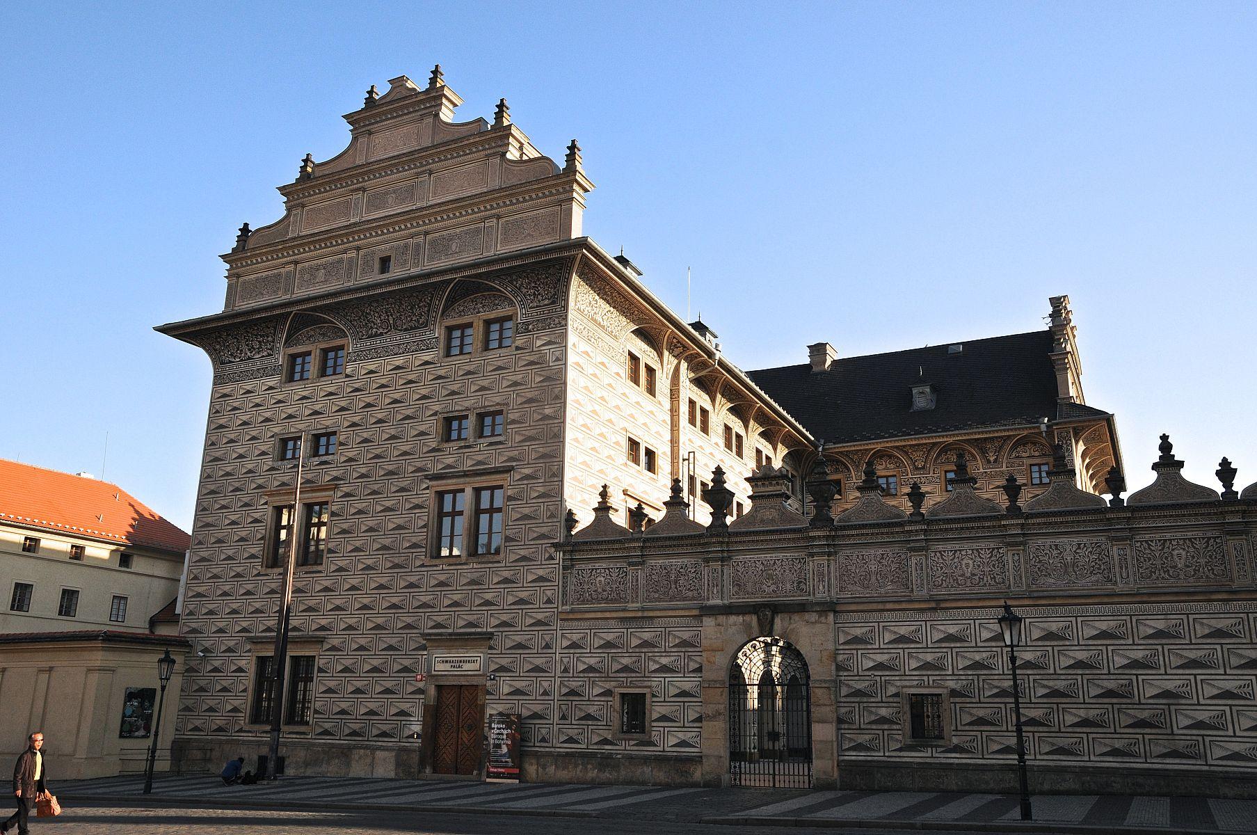 Palatul Schwarzenberg - O călătorie arhitecturală prin Praga, orașul celor 100 de clopotnițe - partea I