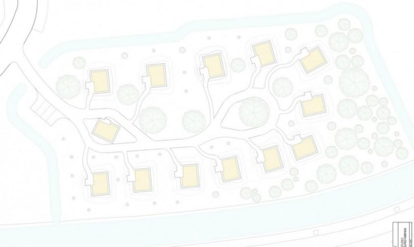 Planurile zonei rezidentiale - O zonă rezidențială pentru cei fără adăpost alimentată în întregime cu energie