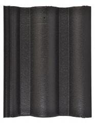 Tigla din beton Lux - Negru - Tigle din beton Lux