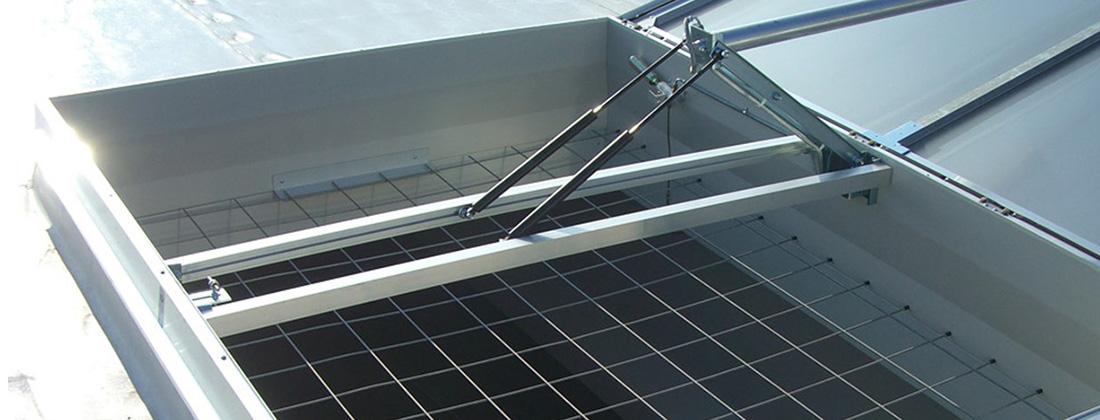 Dispositive antiprabusire si antiefractie - Accesorii pentru cupole luminatoare JET TOP 90