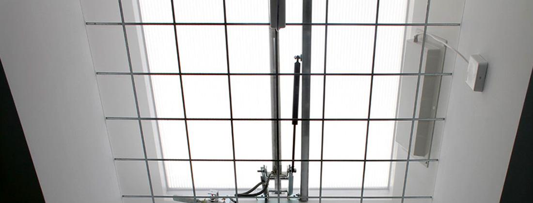 Dispozitiv de ventilare Airlux - Accesorii pentru cupole luminatoare JET TOP 90