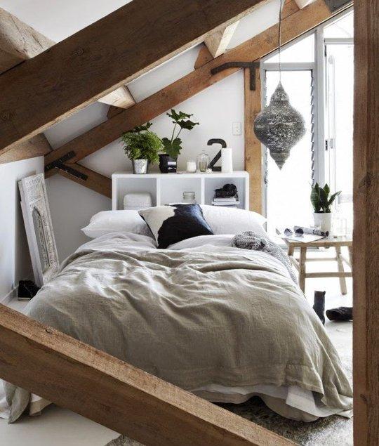Dormitoare amenajate in spatiile atipice ale mansardelor - Dormitoare amenajate in spatiile atipice ale mansardelor