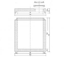 Camin pentru statii pompare apa uzata - DN1600/DN1800/DN2000 - Elemente camine de vizitare din beton