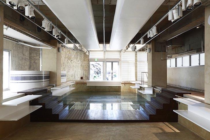 Nobuo-Araki-Restores-Swimming-Pool-Into-Shop-4 - Magazinul Piscina Aoyama