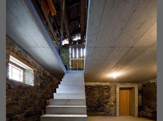 O vila din Elvetia ascunsa in versantul unui munte - O vila din Elvetia - interior