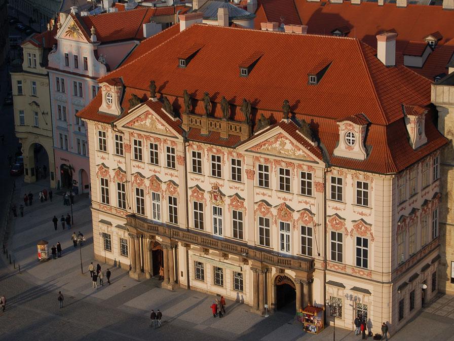 Palatul Kinsky - O călătorie arhitecturală prin Praga, orașul celor 100 de clopotnițe - partea a II-a