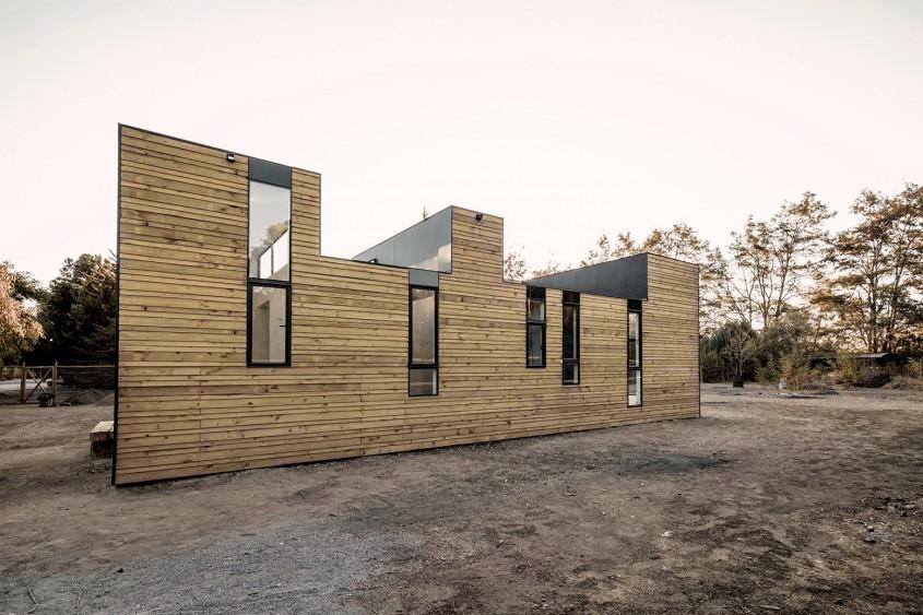 Locuinta SIPm3  - Locuinta SIPm3 o casa din panouri prefabricate dar cu spatialitate generoasa