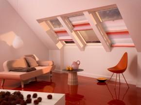 Jaluzea romana Colour Collection - VELUX FHB  - Jaluzele pentru ferestre de mansarda