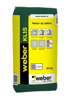 weber KL15 - Mortare de zidarie
