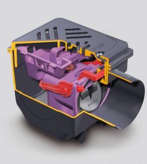 27301 - Sifon Drehfix din ABS pentru subsol - Sifoane tarchet si cu montaj exterior