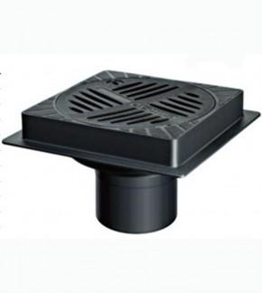 48501 - Gura de scurgere din fonta ecologica - Sifoane tarchet si cu montaj exterior