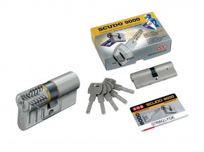 Cilindru de siguranta cu ranforsare antiefractie - SCUDO 9000 - Cilindri