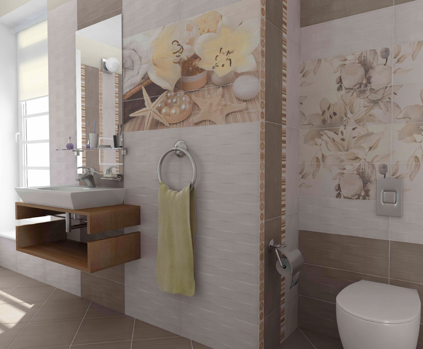 Colectii cu design futurist si materiale naturale prezentate de Fiore Ceramica Kai Group la Cersaie -