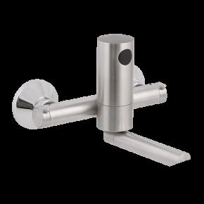 Baterie lavoar de perete cu doua cai de alimentare - SLU 12BRK - Baterii de perete cu senzor infrarosu