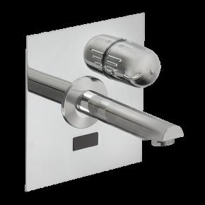 Baterie lavoar de perete cu senzor infrarosu - SLU 04HT25B - Baterii de perete cu senzor infrarosu