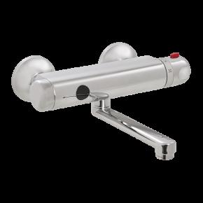 Baterie lavoar de perete cu termostat - SLU 25SB - Baterii de perete cu senzor infrarosu