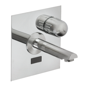 Baterie lavoar de perete cu senzor infrarosu - SLU 04HT17B - Baterii de perete cu senzor infrarosu