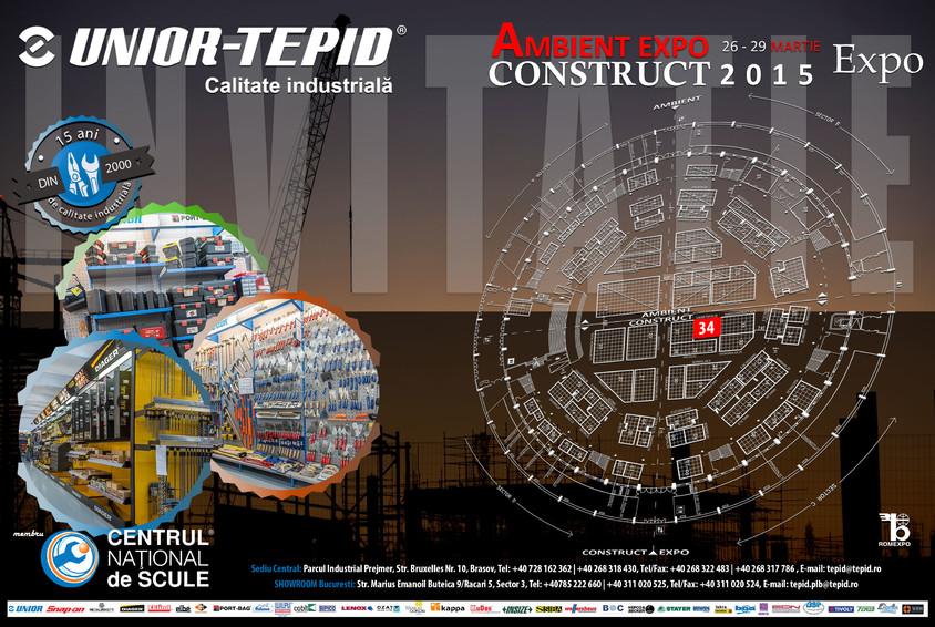 UNIOR TEPID la CONSTRUCT EXPO 2015 - UNIOR TEPID la CONSTRUCT EXPO 2015