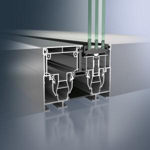 Profil glisant din aluminiu Schüco ASS 77 PD.HI - Profil glisant din aluminiu Schüco ASS 77 PD.HI