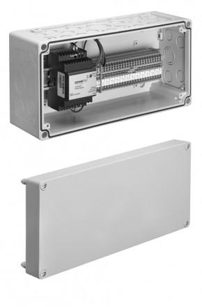 Cutie de distributie - 3.Robinete cu actionare mecanica cu montare in perete pentru spalare WC