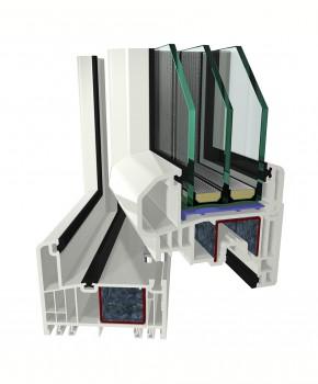 Sistemul de profile GEALAN S 9000 - Sistemul de profile PVC S 9000