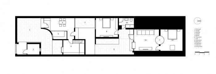 Planuri - Dintr-o pestera degradata au facut o casa moderna