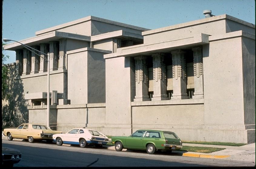 Unity Temple - 150 de ani de la nașterea unui geniu: Frank Lloyd Wright