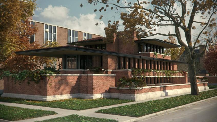 Robie House - 150 de ani de la nașterea unui geniu: Frank Lloyd Wright