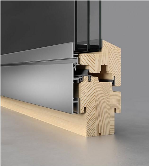 ferestre din lemn placat cu aluminiu josko. Black Bedroom Furniture Sets. Home Design Ideas