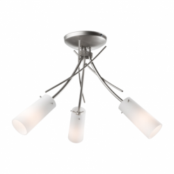 Lustra Oshine satin 3x40W E14, sticla - Iluminat corpuri de iluminat