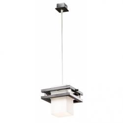 Lustra Alan wenge 1x60W E27, sticla - Iluminat corpuri de iluminat