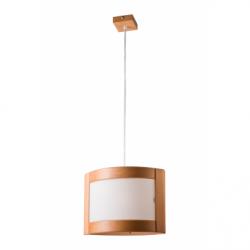Lustra Halina rustic 1x60W E27, sticla - Iluminat corpuri de iluminat