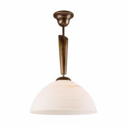 Lustra nuc antic 1x60W E27, sticla - Iluminat corpuri de iluminat