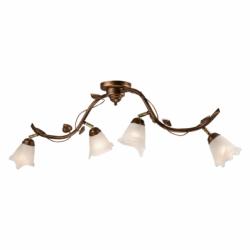 Lustra Bluszcz maro 4x40W E14, sticla - Iluminat corpuri de iluminat