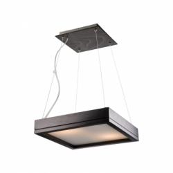 Lustra Agata wenge 2x40W E14, sticla - Iluminat corpuri de iluminat
