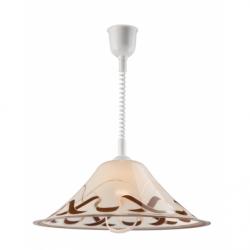 Lustra Plexa stozek 1x60W E27, sticla inaltime ajustabila - Iluminat corpuri de iluminat