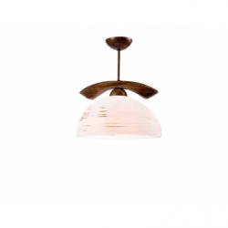 Lustra Lampy pojedyncze nuc antic 1x60W E27, sticla - Iluminat corpuri de iluminat
