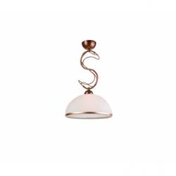 Lustra Cobra maro, 1x60W E27, sticla - Iluminat corpuri de iluminat