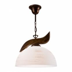 Lustra fag 1x60W E27, sticla - Iluminat corpuri de iluminat