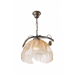 Lustra Bluszcz maro 1x60W E27, sticla - Iluminat corpuri de iluminat