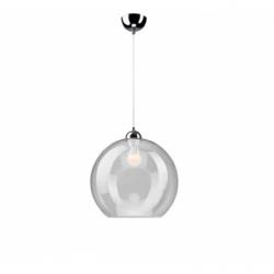 Lustra transparenta 1x60W E27, sticla - Iluminat corpuri de iluminat