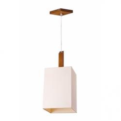 Lustra Pawel rustic 1x60W E 27, textil - Iluminat corpuri de iluminat