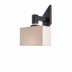 Aplica Pawel rustic 1x60W E27, textil - Iluminat corpuri de iluminat