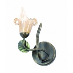 Aplica Ania maro 1x40W E14, sticla - Iluminat corpuri de iluminat