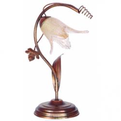 Veioza Rozetka maro 1x40W E14, sticla - Iluminat corpuri de iluminat