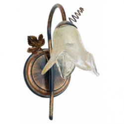 Aplica Rozetka maro 1x40W E14, sticla - Iluminat corpuri de iluminat