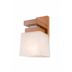 Aplica Kubus rustic 1x60W E27, sticla - Iluminat corpuri de iluminat