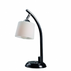 Veioza Julka/Julita negru 1x60W E27, sticla - Iluminat corpuri de iluminat